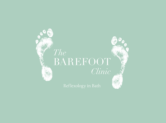 Barefoot White Logo