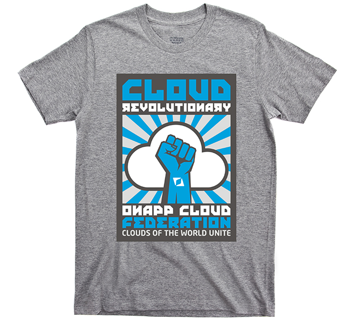 OnApp Cloud Revolution T Shirt