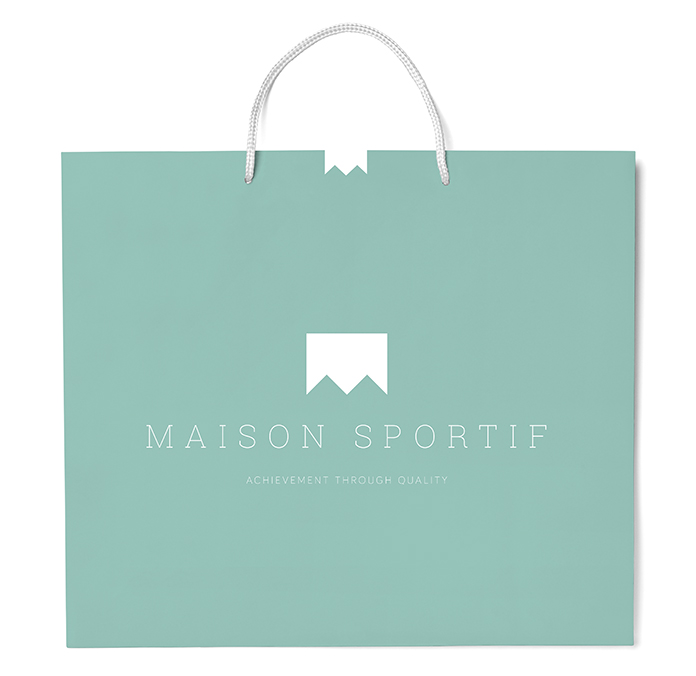 Maison Sportif Shopping Bag