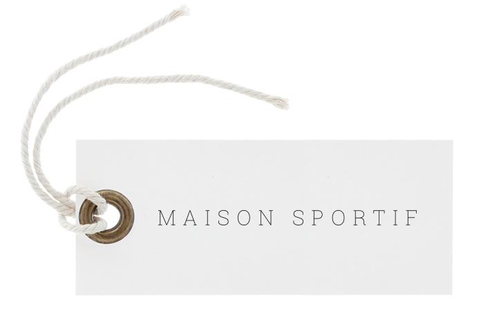 Maison Sportif Tag