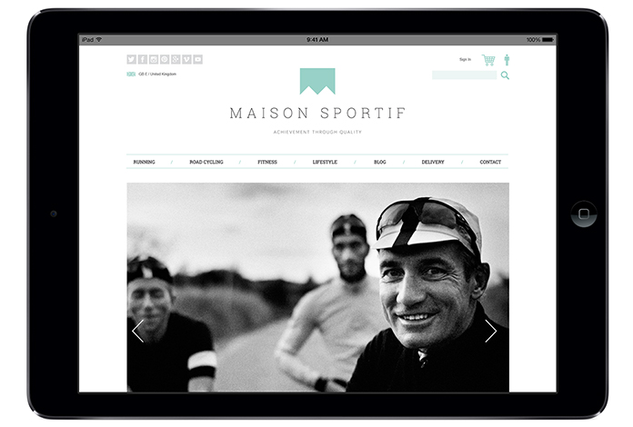 Maison Sportif Website
