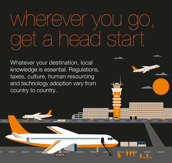 Planet Local, Orange Business Services Infographic, infographic designer, travel infographic