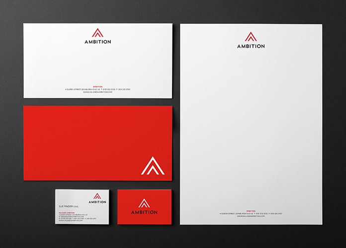 Ambition Stationery Web