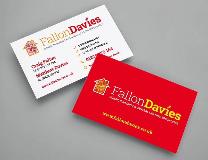 Fallon Davies Business Card