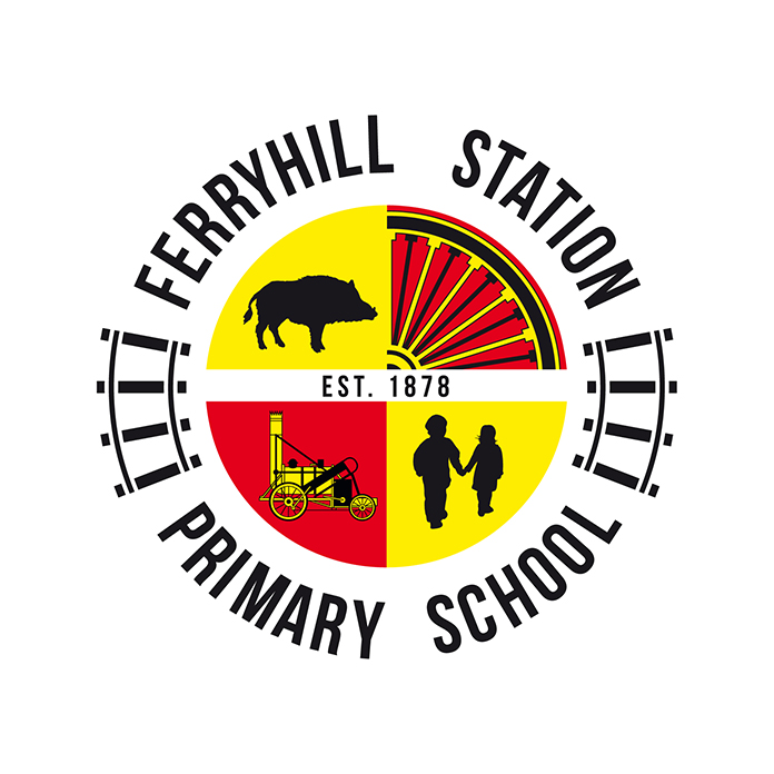 Ferryhill Primary School Logo Option 2